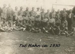 TUS Hahn ca. 1930 -- Mannschaftsfoto